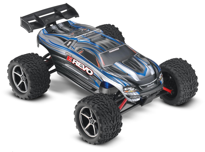 Traxxas E-Revo 4WD RTR 1:16 - радиоуправляемый автомобиль (Blue)