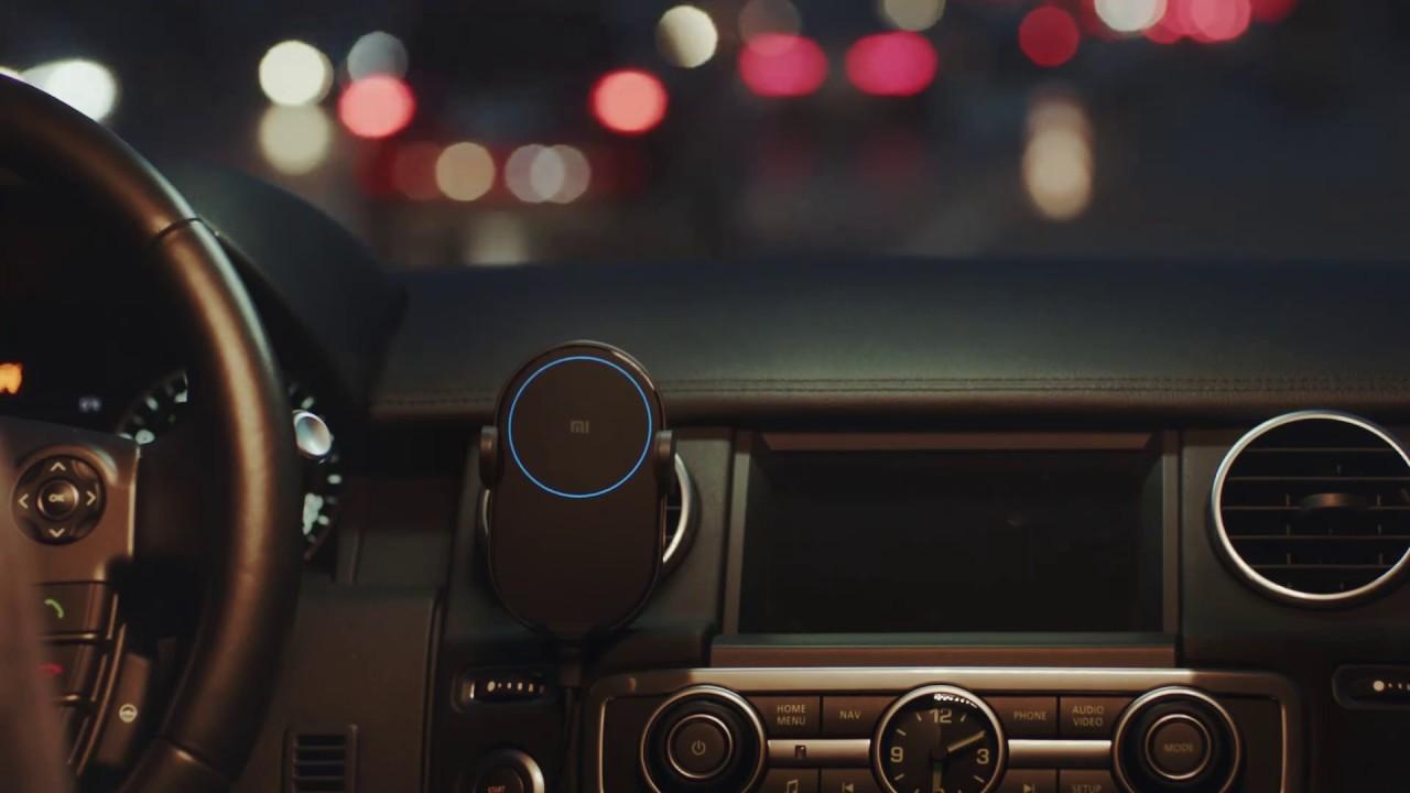 Беспроводное зарядное устройство Xiaomi Wireless Car Charger WCJ02ZM (Black)