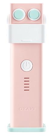 Ozaki O!tool-Battery-D26 2600mAh - дополнительный аккумулятор для мобильных устройств (Pink)