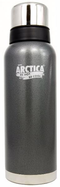 Арктика 1,2 л (106-1200) - термос с узким горлом американский дизайн (Серый)