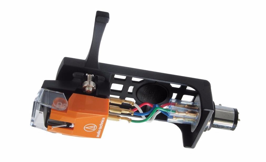 Головка звукоснимателя Audio-Technica AT120EB + хедшелл HS10 (AT120EBHSB)