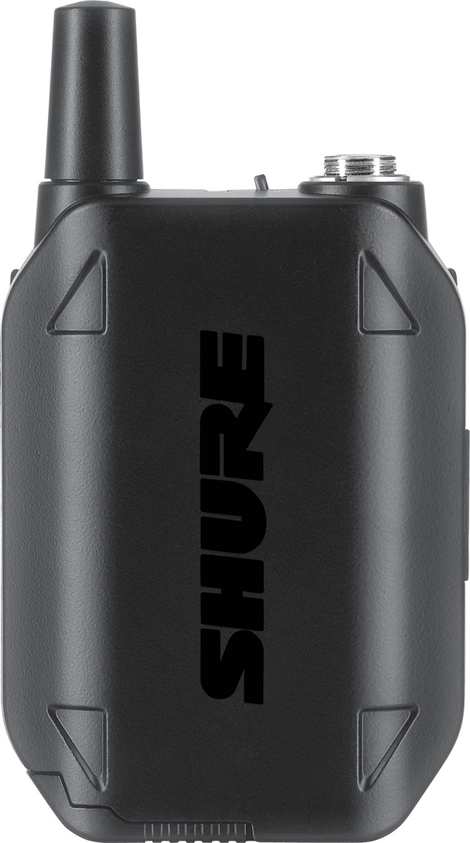 Shure GLXD1 Z2 2.4 GHz - цифровой портативный передатчик для цифровых систем SM и BETA (Black) A045862