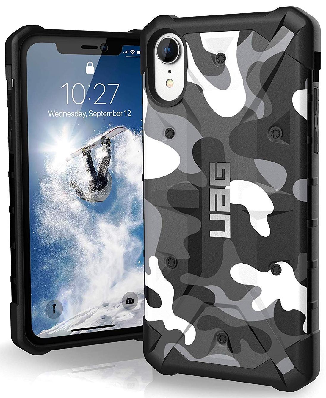 Чехол Urban Armor Gear Pathfinder Camo Series для iPhone XR (Arctic)