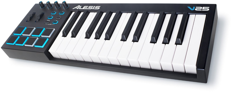 Alesis V25 - миди-клавиатура (Black) A050304