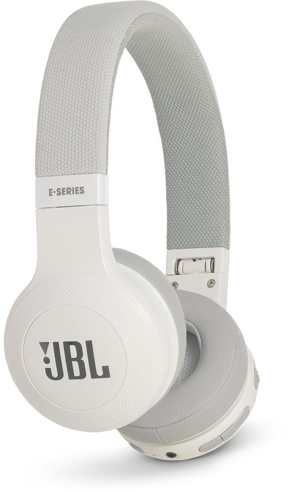 JBL E45BT - накладные Bluetooth-наушники с микрофоном (White)