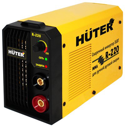 Huter R-220 - инверторный сварочный аппарат (Yellow)