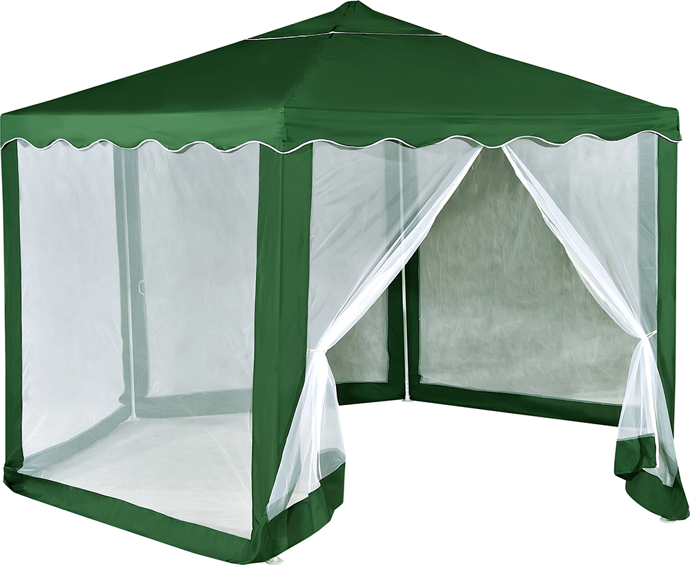 Green Glade 1003 - тент садовый (Green/White)