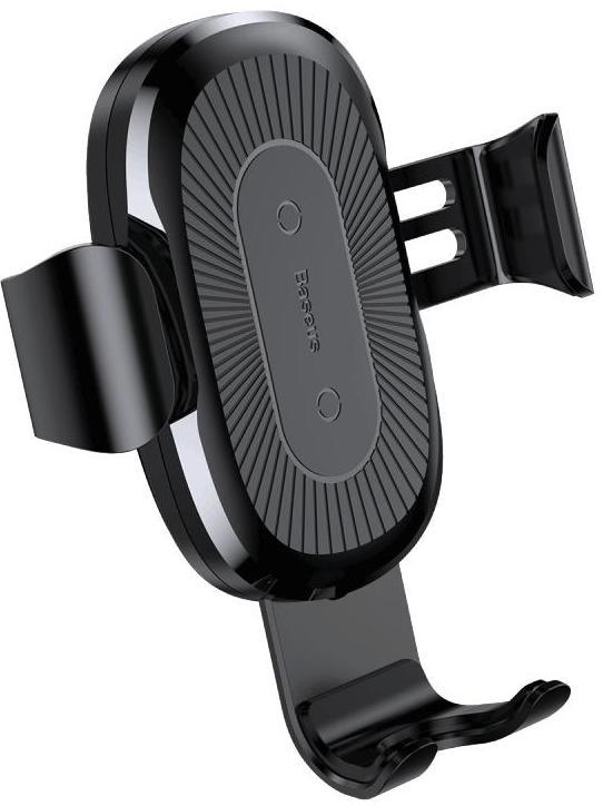 Автомобильный держатель Baseus Wireless Charger Gravity Car Mount (WXYL-A01) с функцией беспроводной зарядки (Black)