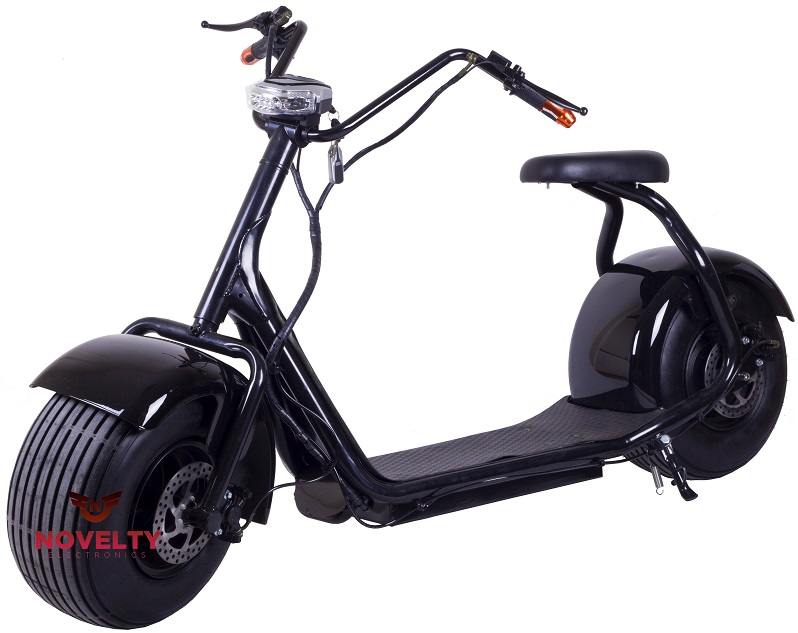 Novelty Electronics City Electric - электрический мотоцикл (Black)