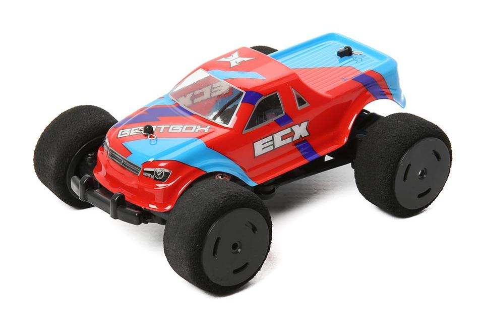 ECX BeatBox Ver.2 1:36 - радиоуправляемый автомобиль (Red)