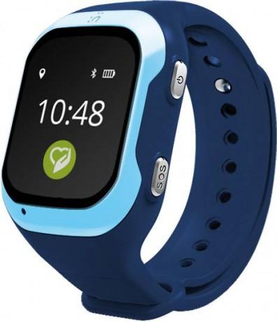 Кнопка жизни К917 - детские часы-телефон с GPS-геолокацией (Blue)