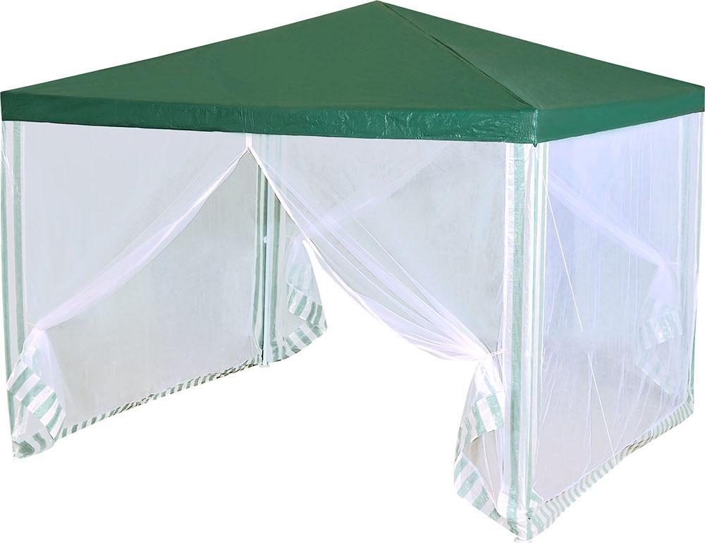 Green Glade 1028 - тент садовый (Green/White)