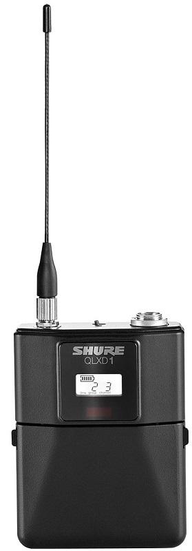 Shure QLXD1 K51 (A051381) - портативный поясной передатчик QLXD (Black)Профессиональные микрофоны<br>Портативный поясной передатчик<br>