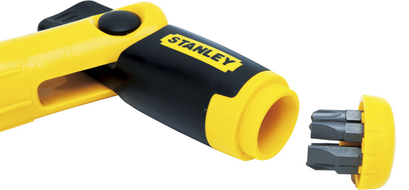 Stanley control grip ratcheting screwdriver husqvarna ppe
