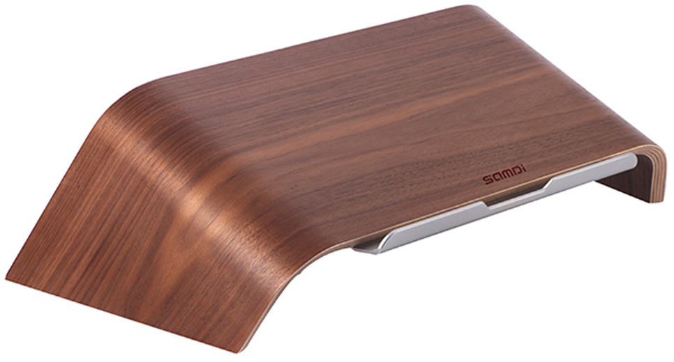 Samdi Laptop Birch Timber Wooden Stand ��