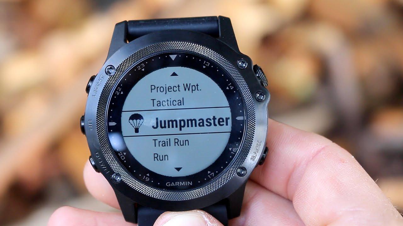 Спортивные GPS-часы Garmin Tactix Bravo 010-01338-0B (Black)