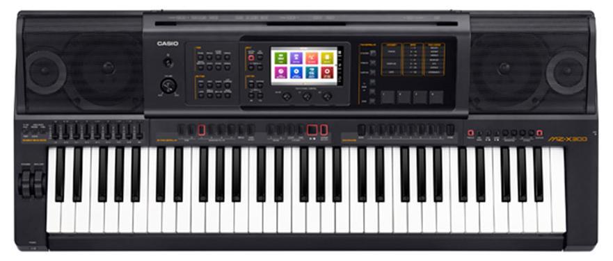 Casio MZ-X300 (A062352) - синтезатор (Black)Музыкальные инструменты<br>Cинтезатор<br>