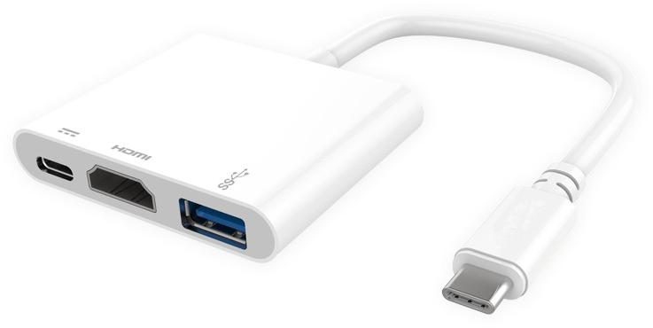 PROLINK MP459 - USB-хаб (White)