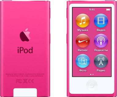iPodApple iPod nano<br>Цифровой плеер<br>