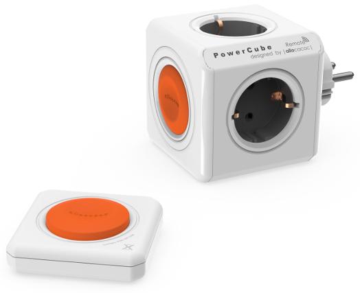 Купить Allocacoc PowerCube Original Remote Set (1510/EUORRM) - сетевой разветвитель (White)