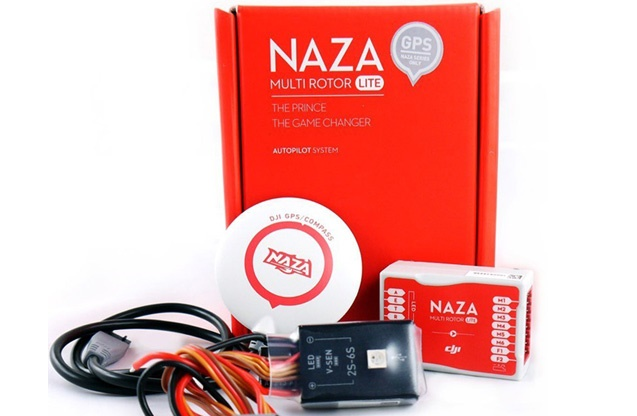 Naza-M LiteПолетные контроллеры для коптеров<br>Система стабилизатора для вертолетов<br>