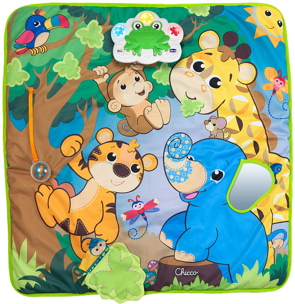 Chicco Jungle Playmat (10CO1131) - развивающий коврик