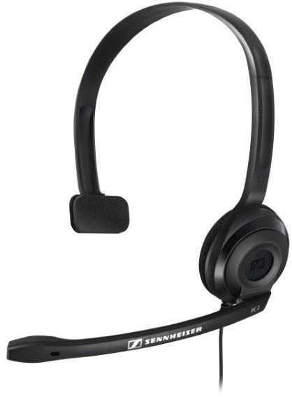 Sennheiser PC 2 Chat (504194) - проводная моно-гарнитура (Black)