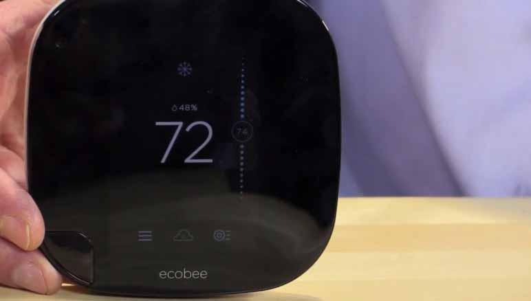 Ecobee3 Smart Thermostat Wi-Fi - умный термостат (Black)