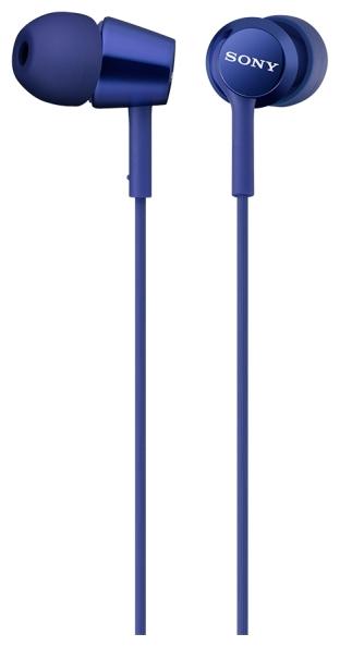 Sony MDR-EX150AP - наушники-гарнитура для смартфонов (Blue)