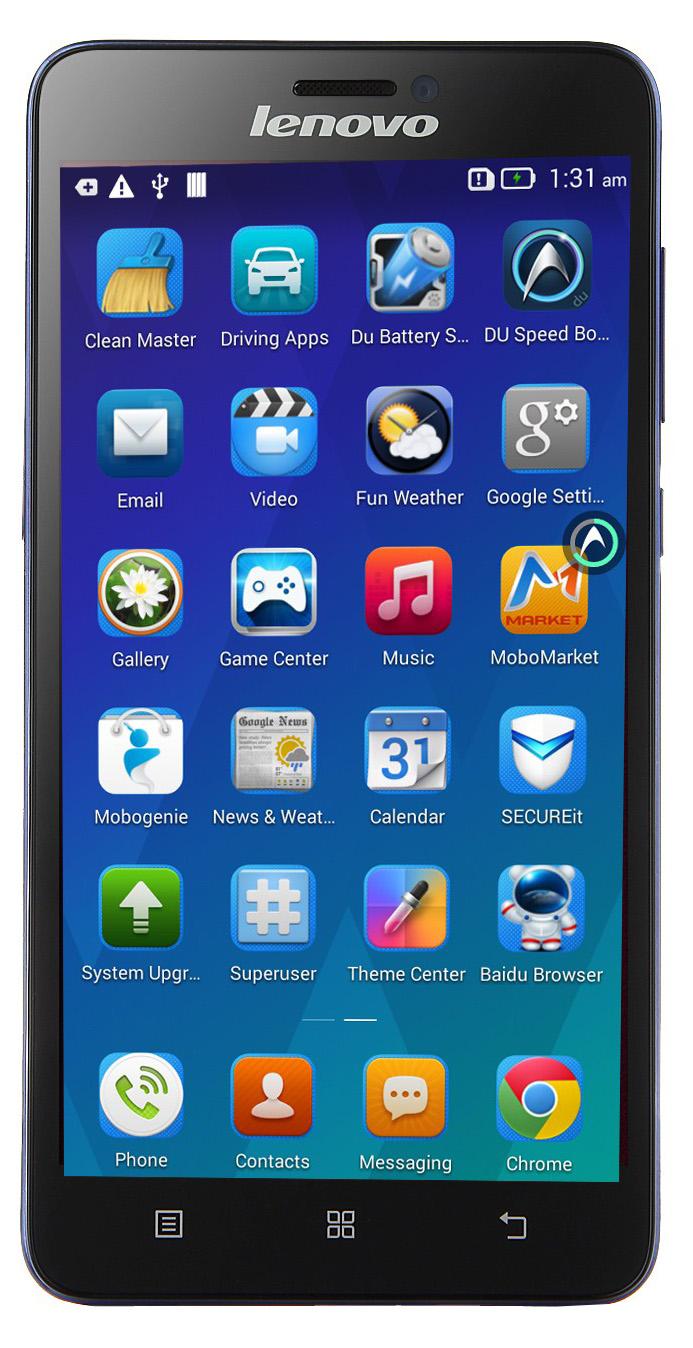 Смартфон Lenovo S850 (Blue)
