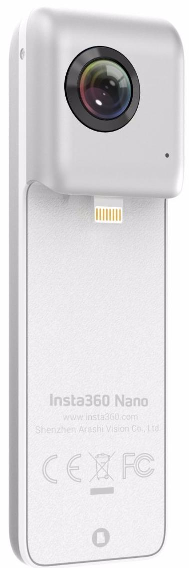 Insta360 Nano - панорамная камера для iPhone 6/7 (White)Экшн камеры и аксессуары других производителей<br>Панорамная камера<br>