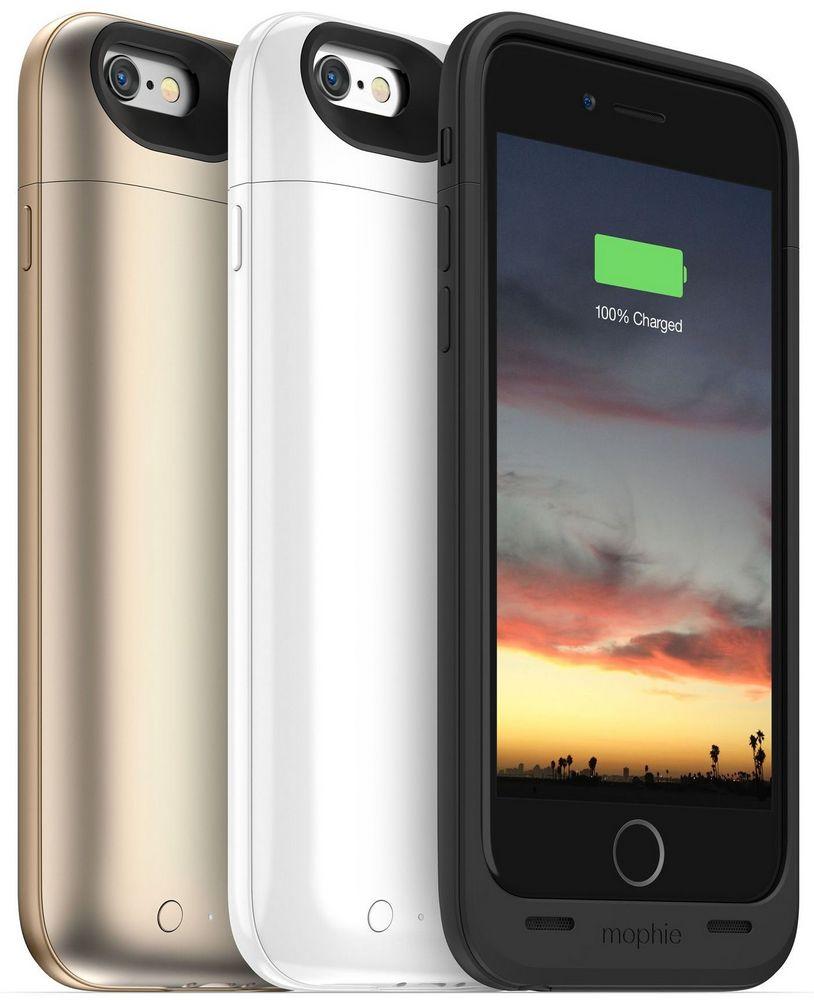 Чехол-аккумулятор Mophie juice pack air для iPhone 6 белый