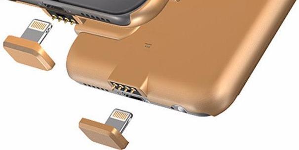 Заглушка для чехла-аккумулятора Heddy (Gold)