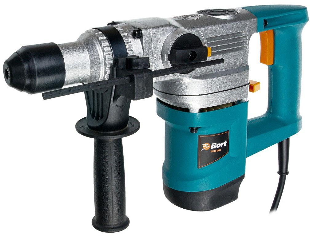 Bort BHD-901 (98293647) - электрический перфоратор (Blue)Перфораторы<br>Электрический перфоратор<br>