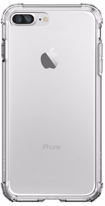 Spigen Crystal Shell (043CS20314)  - чехол для iPhone 7 Plus/8 Plus (Crystal Clear) чехол накладка iphone 6 6s 4 7 lims sgp spigen стиль 8 580082
