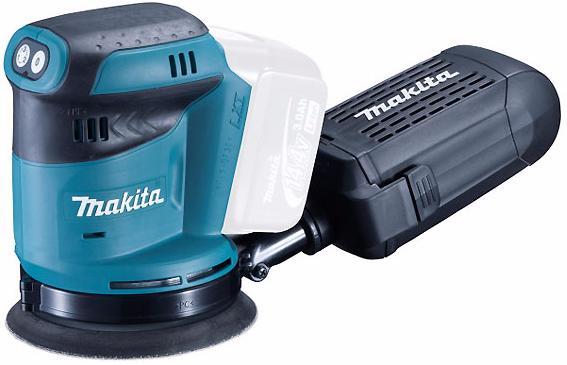 Makita BBO140Z - аккумуляторная эксцентриковая шлифмашина (Blue) от iCover