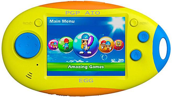 PGP AIO Egg 16 bit (MGS3501-F) - портативная игровая приставка (Yellow/Blue/Orange)