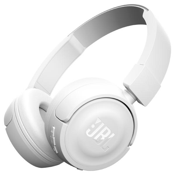 JBL T450BT - беспроводные наушники с микрофоном (White)