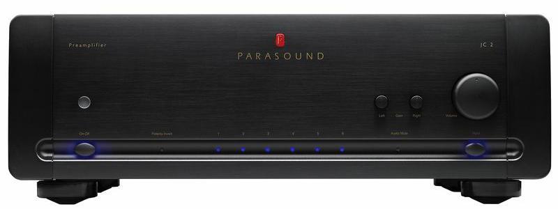 Parasound JC 2 BP - предварительный стерео усилитель (Black)