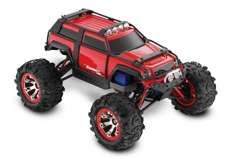 Traxxas Summit VXL 1:16 - радиоуправляемый автомобиль (Red)Внедорожники / Монстр-трак модели<br>Радиоуправляемая автомодель<br>