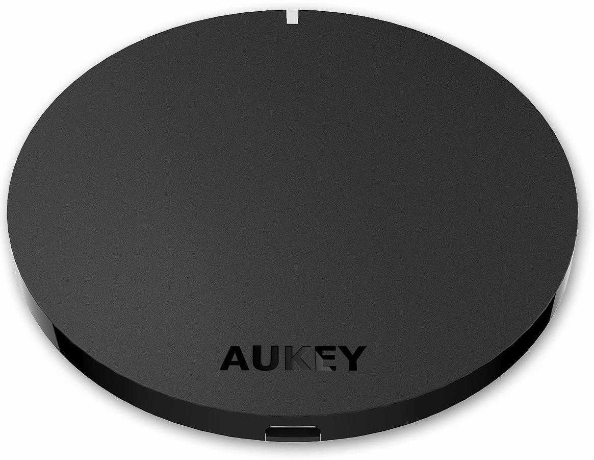 Aukey Qi-Enabled Wireless Charger - беспроводное зарядное устройство (Black)