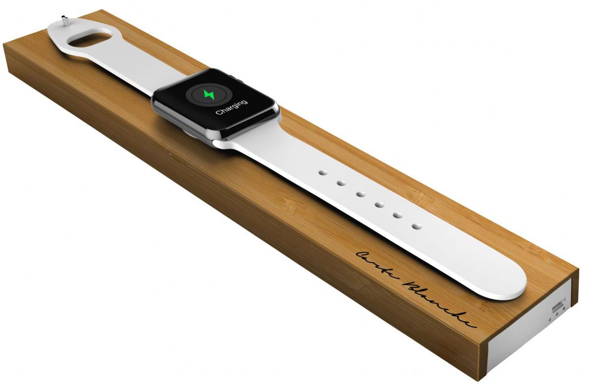 BlocАксессуары к Apple Watch<br>Подставка со встроенным аккумулятором<br>