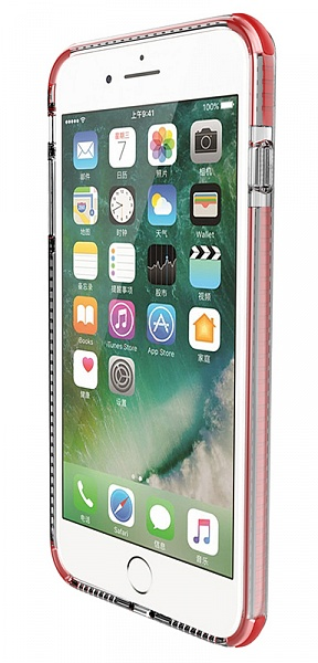 Baseus Armor Case (WIAPIPH7P-YJ09) - накладка для iPhone 7 Plus (Red)