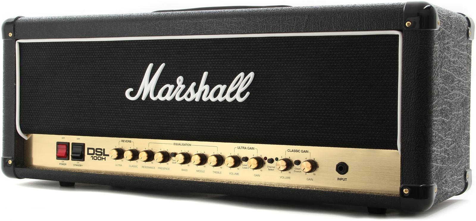 Marshall DSL100H - гитарный усилитель (Black)