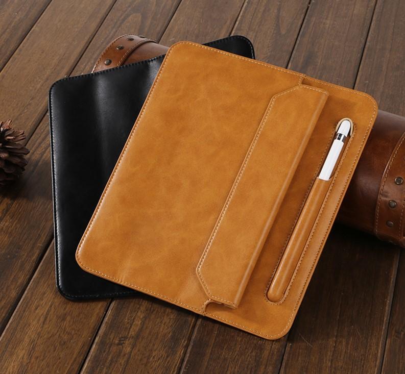 Чехол Jisoncase Mircofiber Leather Case (JS-IM5-01M10) для iPad Mini 5 2019 (Black)