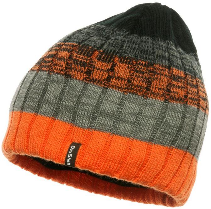 Dexshell DH332N (DH332N-OG) - водонепроницаемая шапка (Orange/Grey)