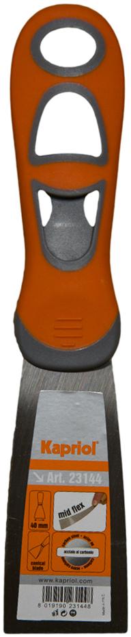 Kapriol 40 мм (23144) - полужесткий шпатель с ручкой Progrip