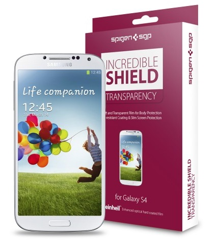 SGP Incredible Shield Transparency  Screen & Body Protector (SGP10192) - защитная пленка для Samsung Galaxy S4