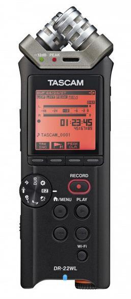 Tascam DR-22WL (A052392) - ручной рекордер (Black)