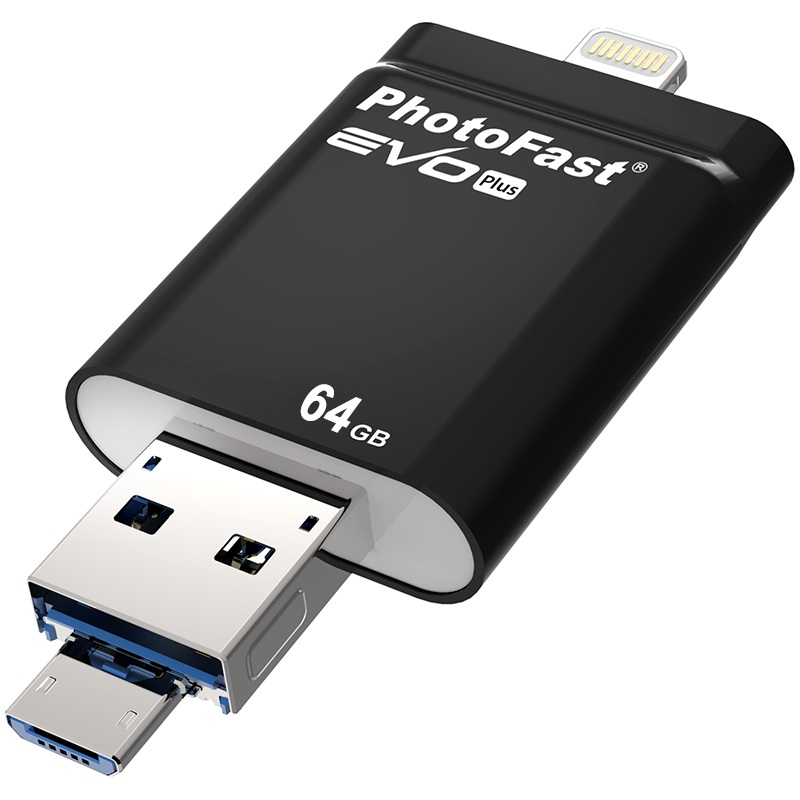 PhotoFast i-Flashdrive EVOPLU642GB